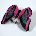 Бабочка светящаяся фиолетовая