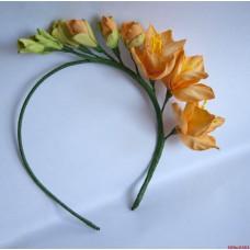 """Ободок """"Желтые цветы"""""""