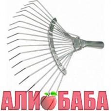 Грабли веерные проволочные оцинкованные (без черенка)