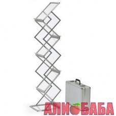 Стойка для печатной продукции  (27 см х 37 см х 150 см )