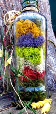 стабилизированный мох микс цветов